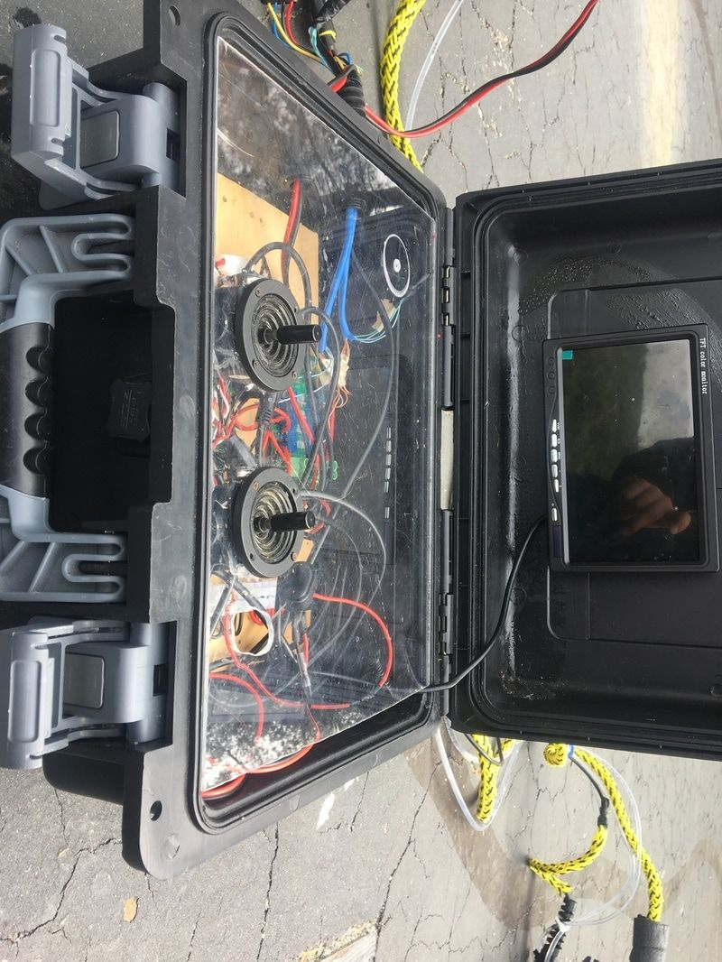 ROV Control Box - Take a peek at our final control system for our