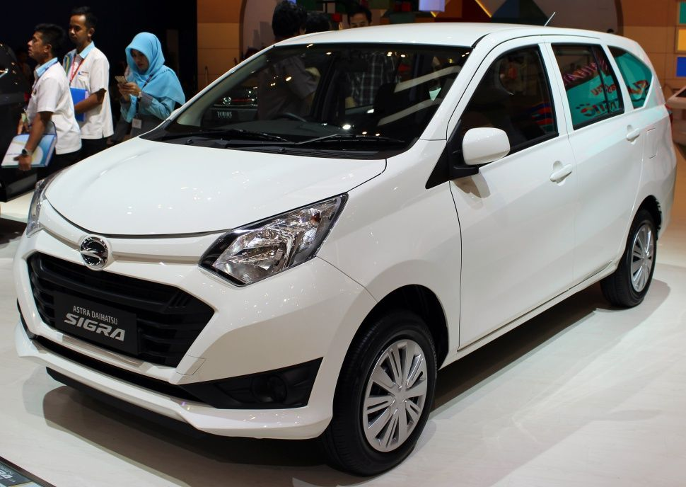 Daihatsu Sigra Dengan Gambar Mobil Daihatsu Mobil Mpv