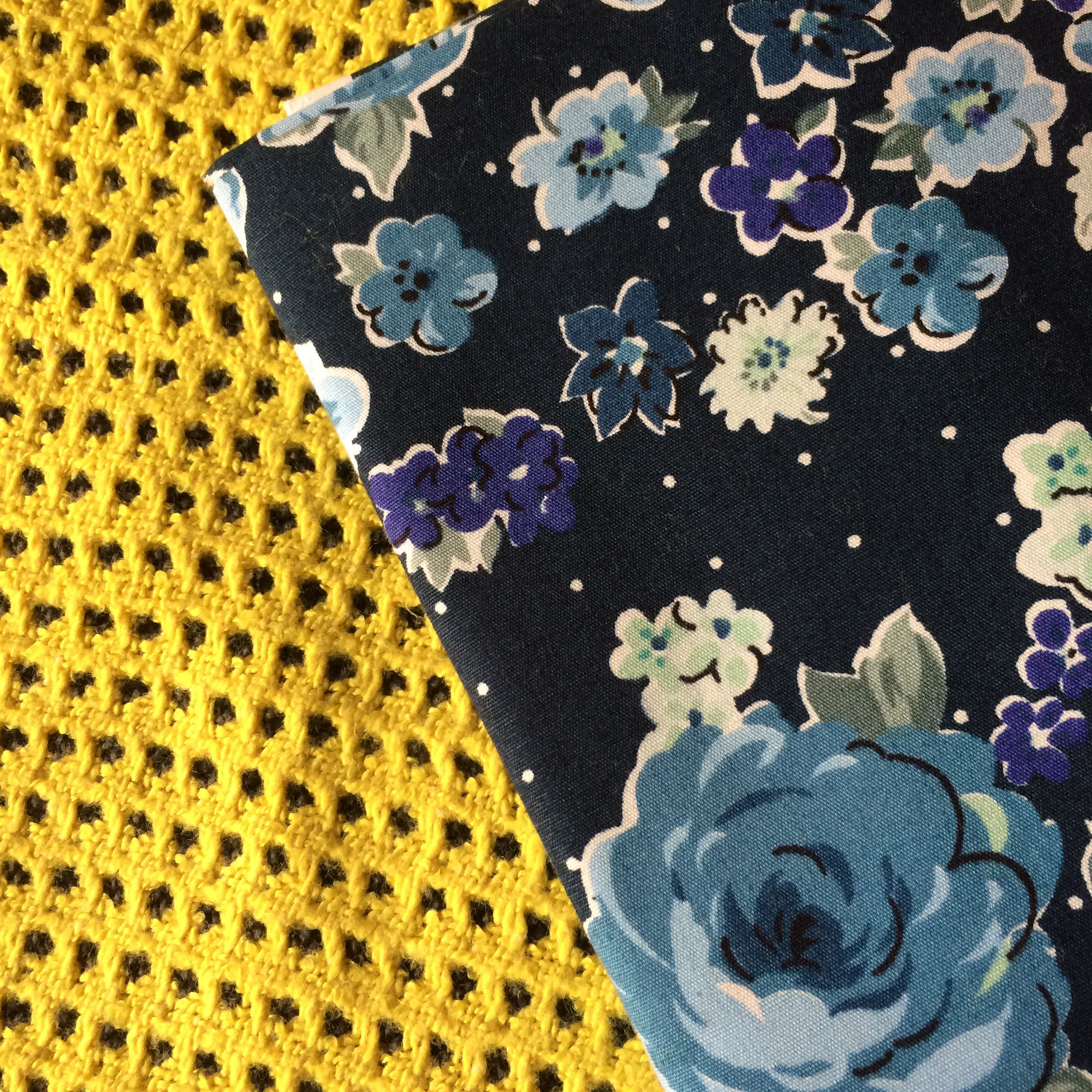 Fabrics lime dark blue and yellow pinterest fabrics