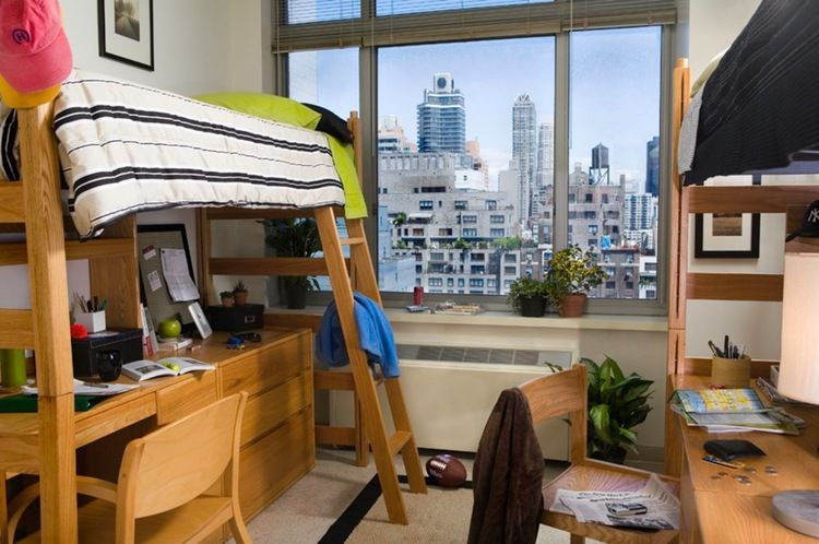 Surprisingly Simple Ideas To Help Save Space In Your Dorm Room Space Saving Dorm Life Dorm