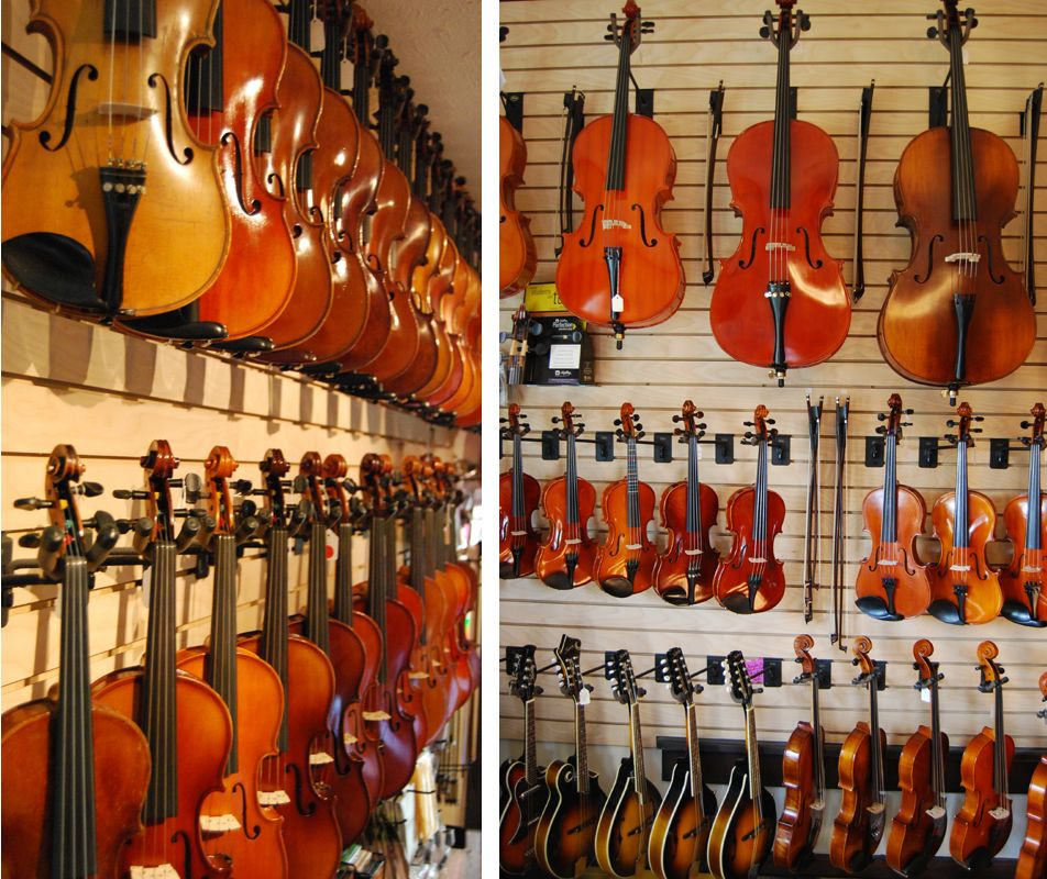 Nashville Violins many of their violins are made by hand