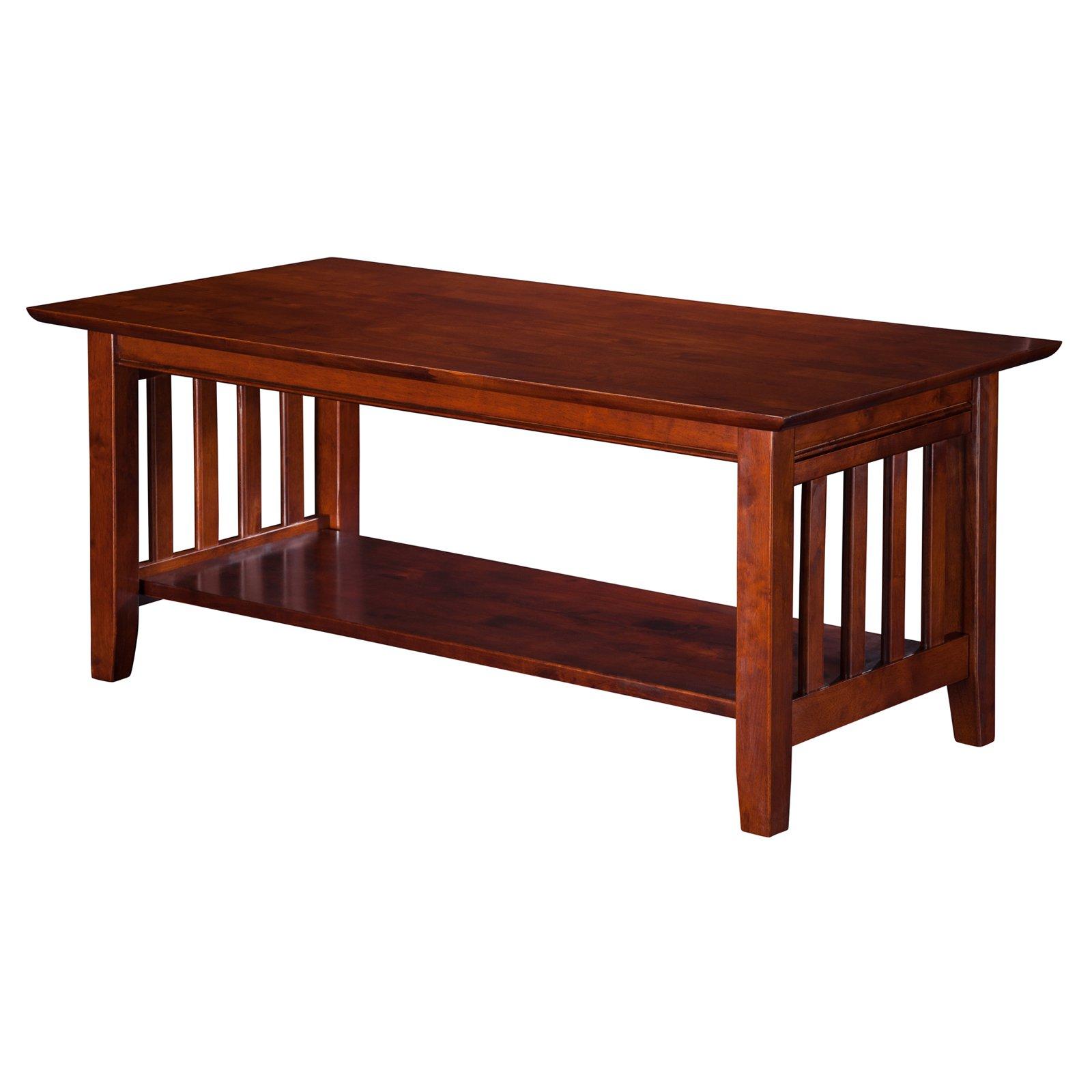 Atlantic Furniture Mission Coffee Table Atlantic Furniture Walnut Coffee Table Coffee And End Tables [ 1600 x 1600 Pixel ]
