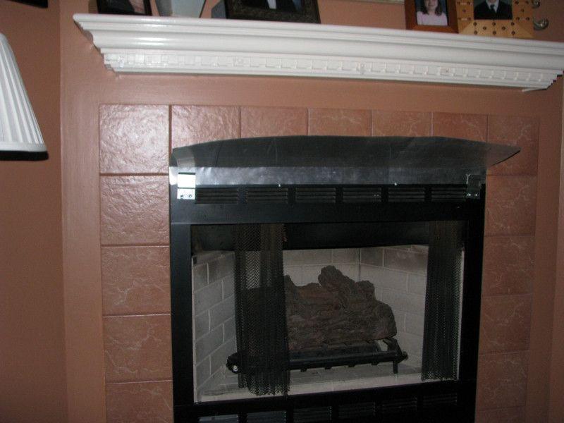 Fireplace Deflector Shield Fireplace Shields For Mantels