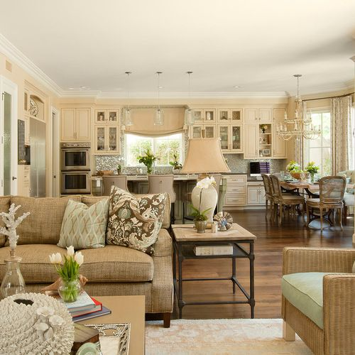 Best Traditional Family Room Design Ideas Remodel Pictures Houzz Houzz Living Room Family Room Open Concept Kitchen Living Room
