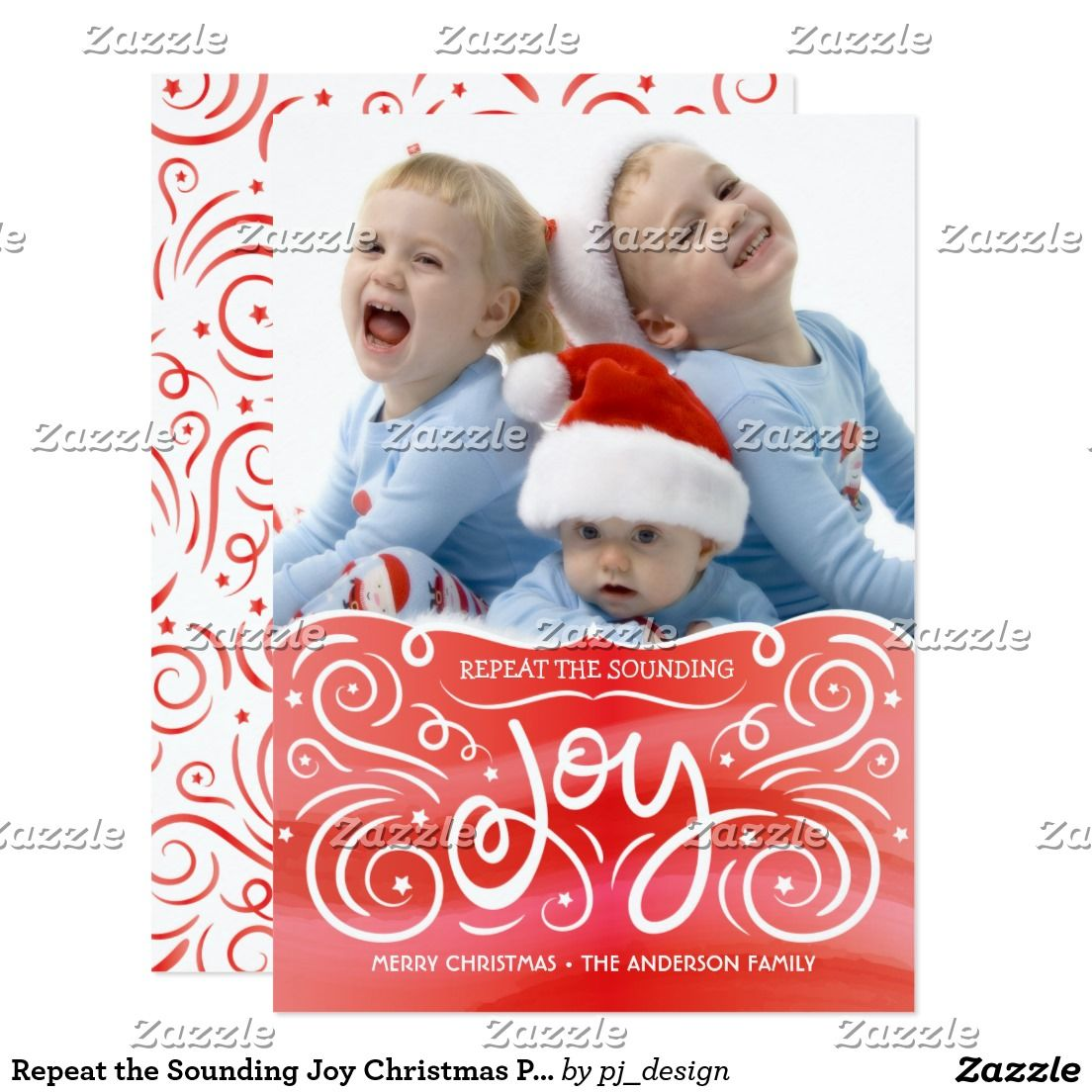 Create your own invitation christmas photo