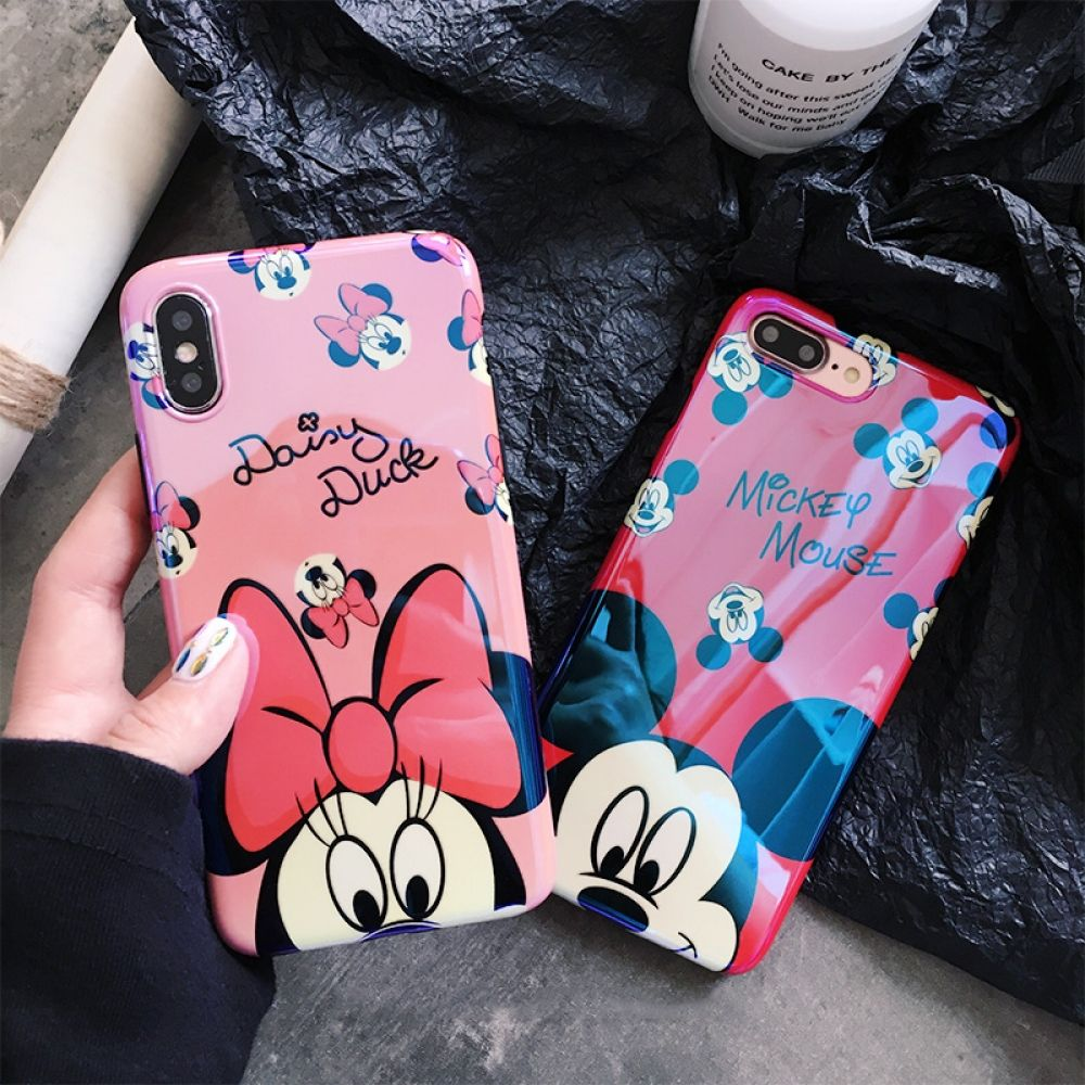 Cartoon mickey minnie iphone case iphone cases for