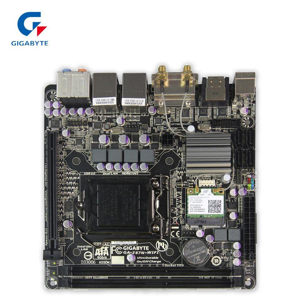 Gigabyte GA-Z87N-WIFI Original Used Desktop Motherboard Z87N