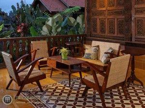 Set Kursi Tamu Jawa KT 006 Kursi Vintage Jati, Jepara Vintage Furniture,  Vintage