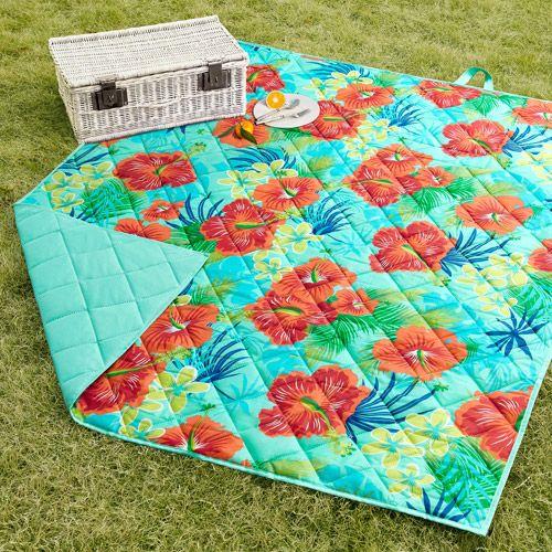 Walmart Mainstays Hibiscus Lawn Blanket Lawn Blanket Mainstays