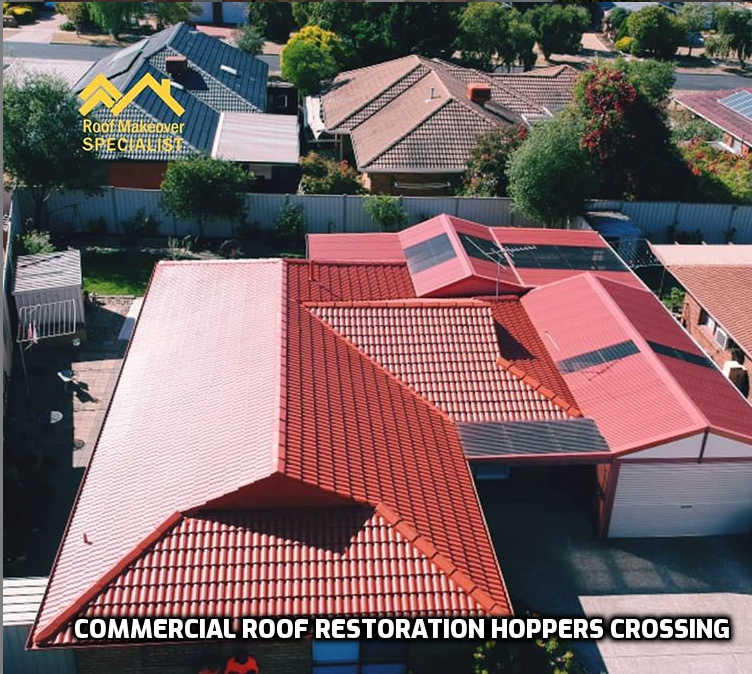 Commercial Roof Restoration Hoppers Crossing In 2020 Roof Restoration Roof Paint Colorbond Roof