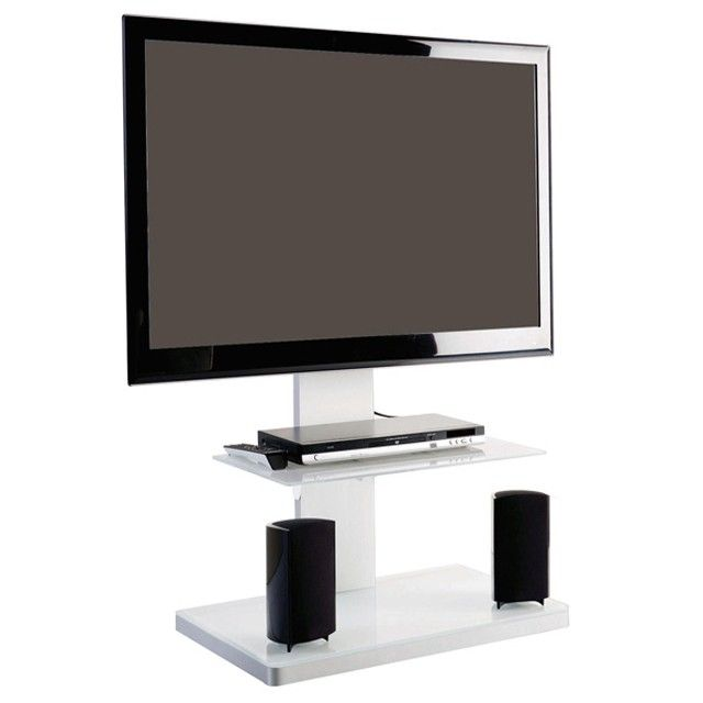 support tv new york sur pied orientable et inclinable. Black Bedroom Furniture Sets. Home Design Ideas