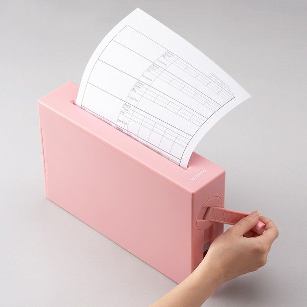 Manual Shredder Pink by IDEA international | Fab.com