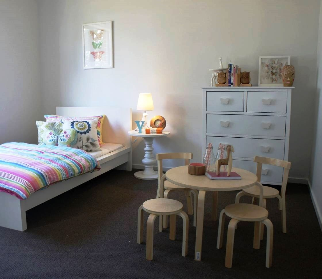 Table And Chair Set For Bedroom A Gorgeous Girls Bedroom With Mockas Kids Wooden Table And Chairs