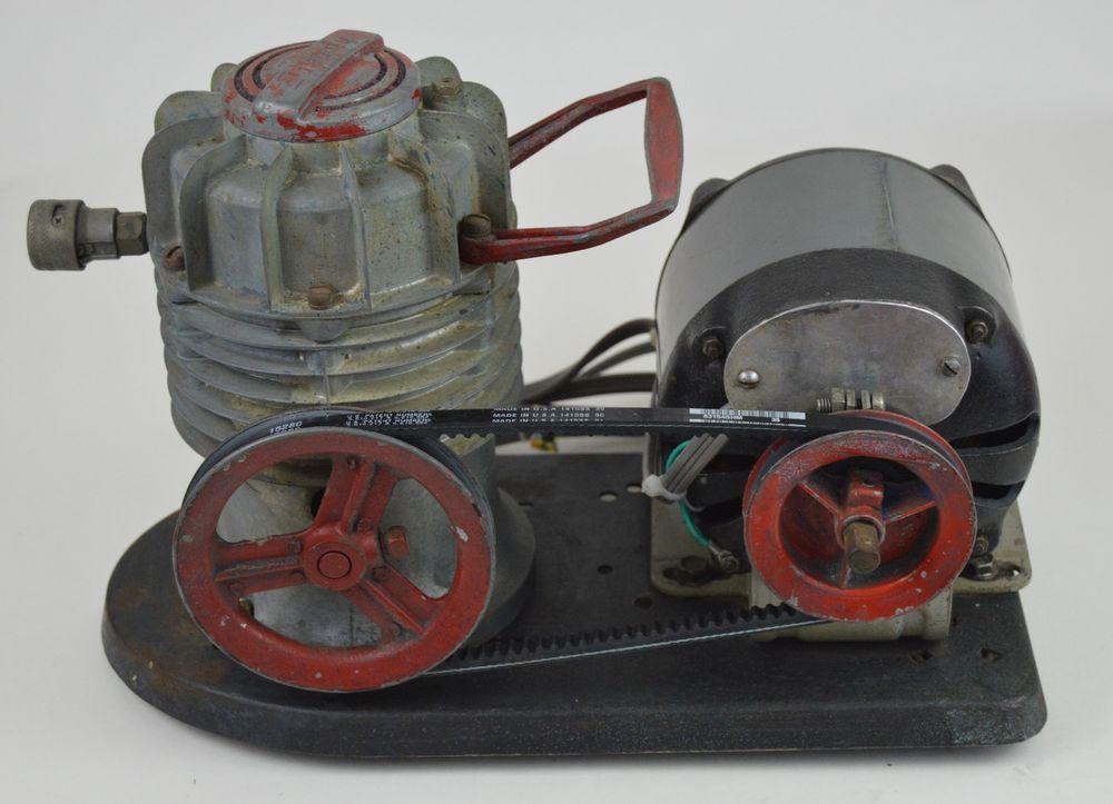 Vintage W Brown Speedy Oilless Air Compressor Dredge Diving Paint Sprayer Hookah Wrbrownspeedysprayer Paint Sprayer Air Compressor Compressor