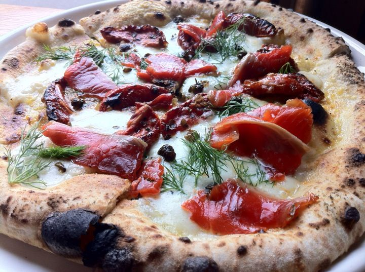 Authentic Thin Crust Neapolitan Margherita pizza, Gelato and Sorbetto and traditional Italian cuisine. http://pizzeriaprimastrada.com/