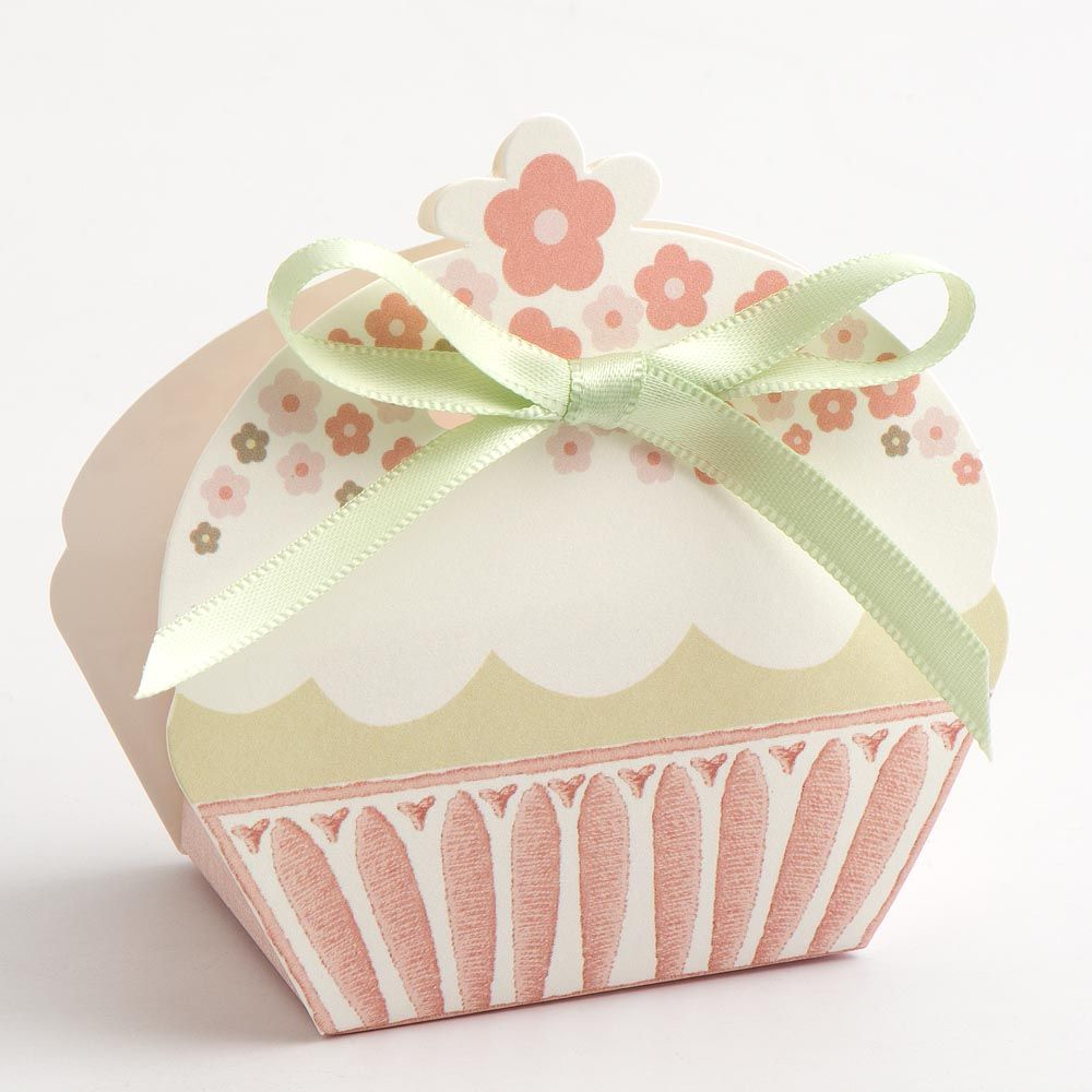 These gorgeous new cupcake favour boxes are perfect for an afternoon ...