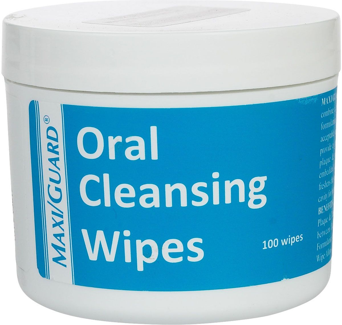Maxi/Guard Oral Cleansing Wipes for Dogs and Cats 100 ct