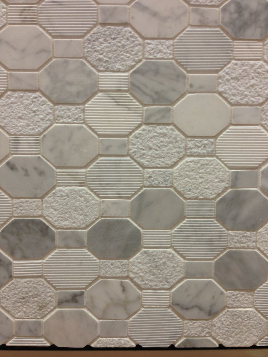 Awesome non slip shower floor tile from Home Depot Design