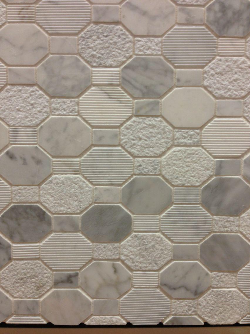 Awesome non slip shower floor tile from Home Depot