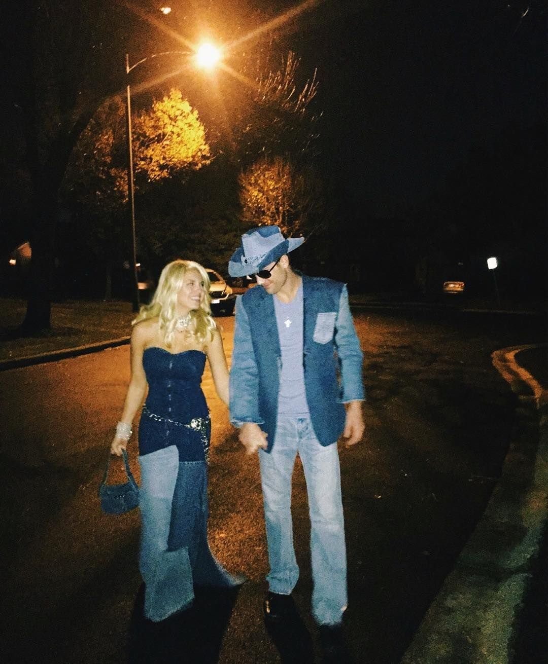 272bda09d12fc How to Make a Denim Britney and Justin Costume for Halloween