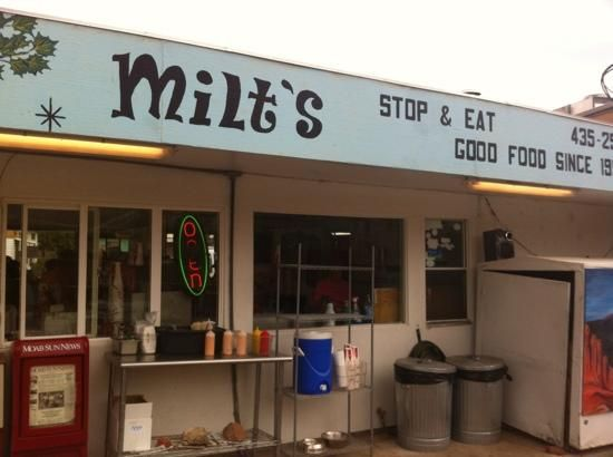 "While we may elect to rationalize a stop at Milt's (""well, I rode x, y, z trail today.... I ran the 10k today..."" ), who cares. Classic, fresh-made food that just tastes GOOD. Creative specials as well as great burgers and more. And seriously - get a shake."