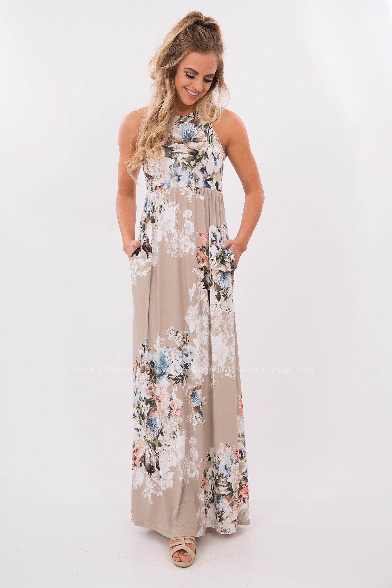 Floral Maxi Dress Maxi Dress Boho Dress Printed Summer Dresses