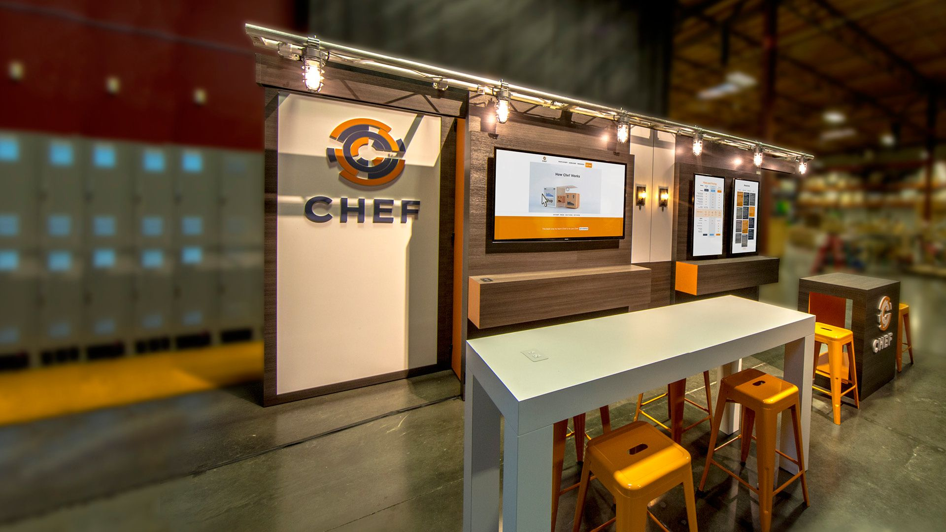 Exhibition Booth Fabrication : Chef trade show booth functional design software