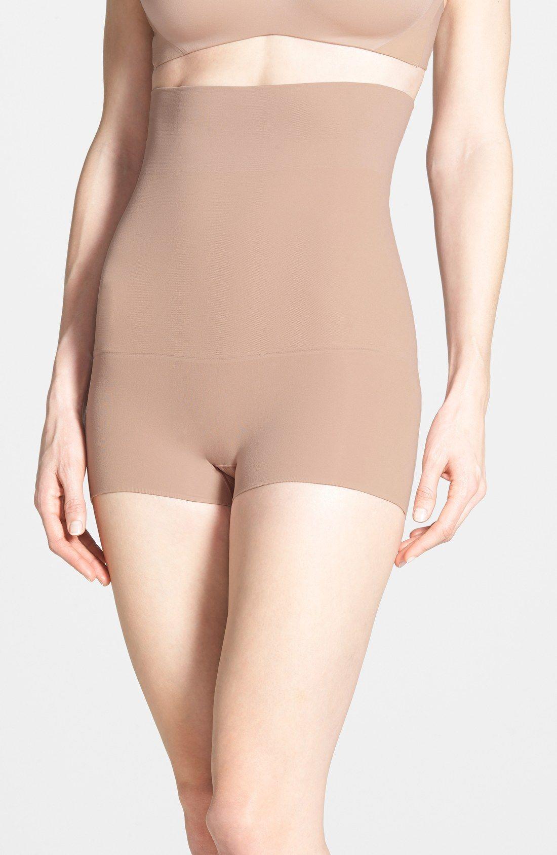 5dd6acb96339a SPANX®  Haute - Shorty  Waist Shaping Shorts (Regular   Plus Size ...