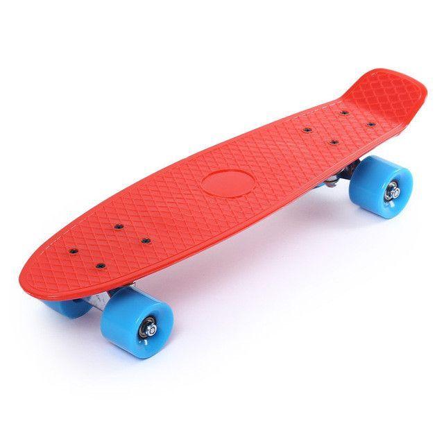 22 inch Classic Retro Mini Cruiser Complete Skateboard Long board Teenager Cool Street Style Skateboard 11 Colors