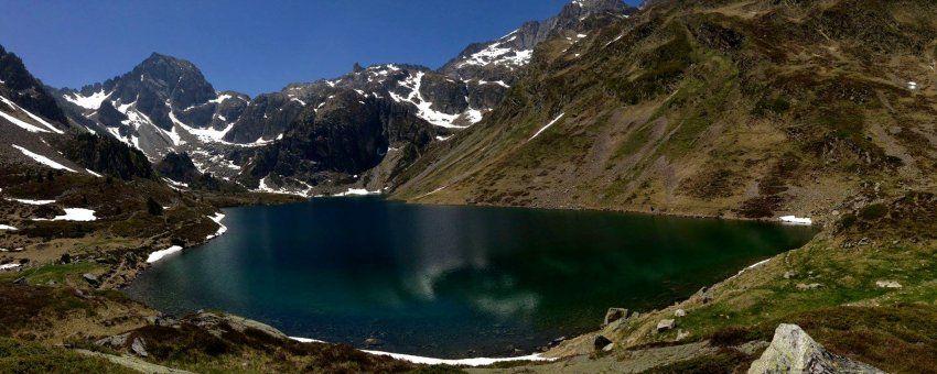 Lac D Ilheou 1976m Au Depart De Cauterets Randonnee Pyrenees Midi Cauterets Randonnee Pyrenees Randonnee