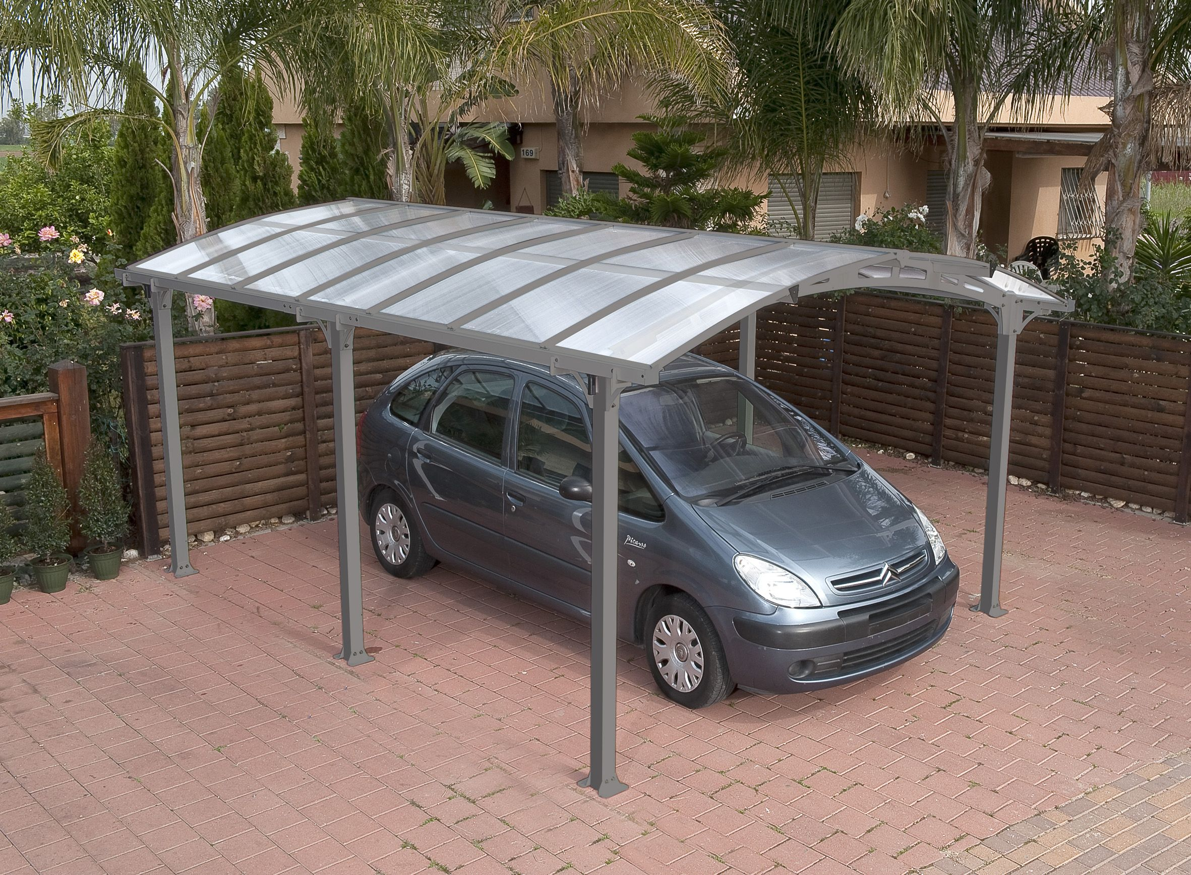 Arcadia 5000 carport garage pinterest for Tepro carport