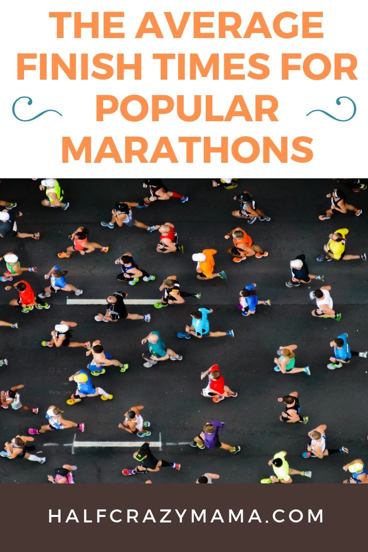 Average Marathon Times and more US Marathons By Numbers