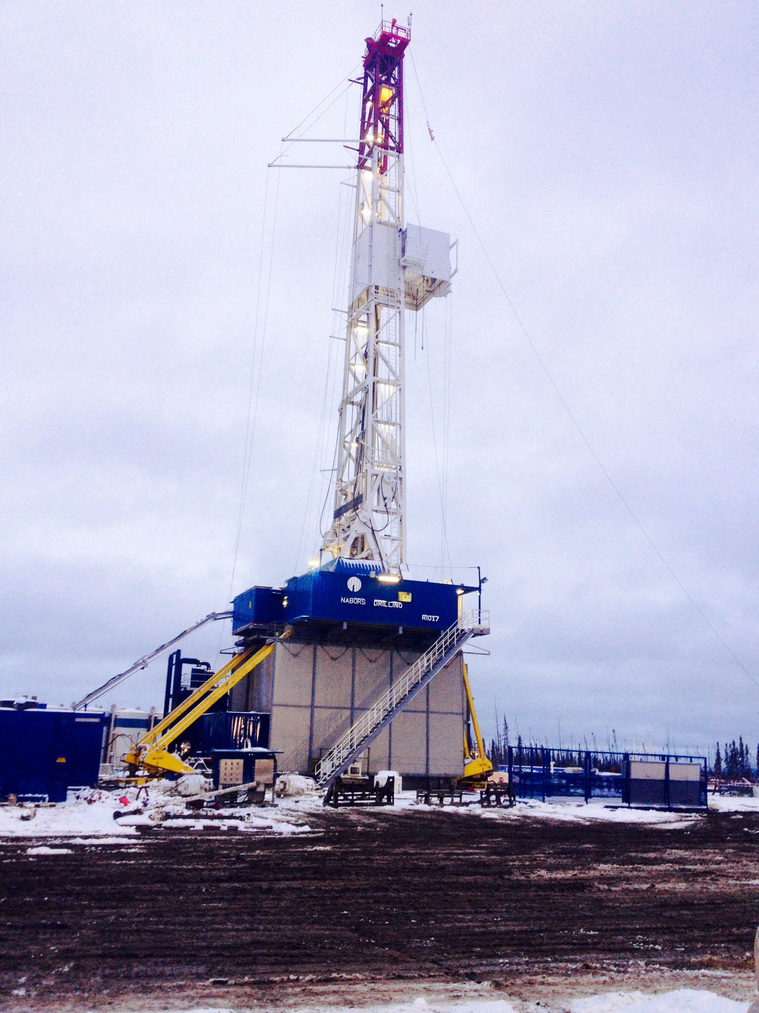 Nabors Drilling Rig 17 Drilling Rig Oil Rig Oilfield Life