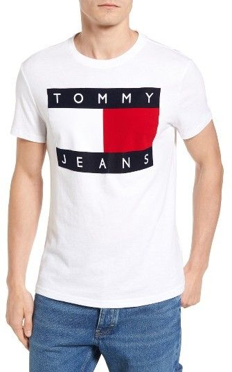6d5e2ebe5 Tommy Hilfiger '90S Jeans T-Shirt $50 Nordstrom Reissue of Tommy Jeans T-