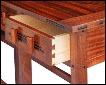 Perfect Greene U0026 Greene Inspired Hall Table. Woodworking FurnitureFurniture PlansCraftsman  ...