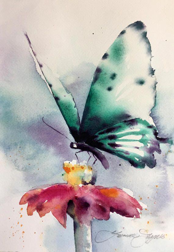 Butterfly Wings Butterfly Art Painting Butterfly Watercolor