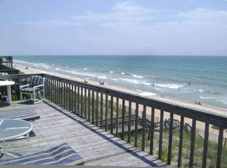 Topsail Beach Condo Renovation: $3470 8/3, 8/10. Oceanfront, No Pool Surf City From VRBO
