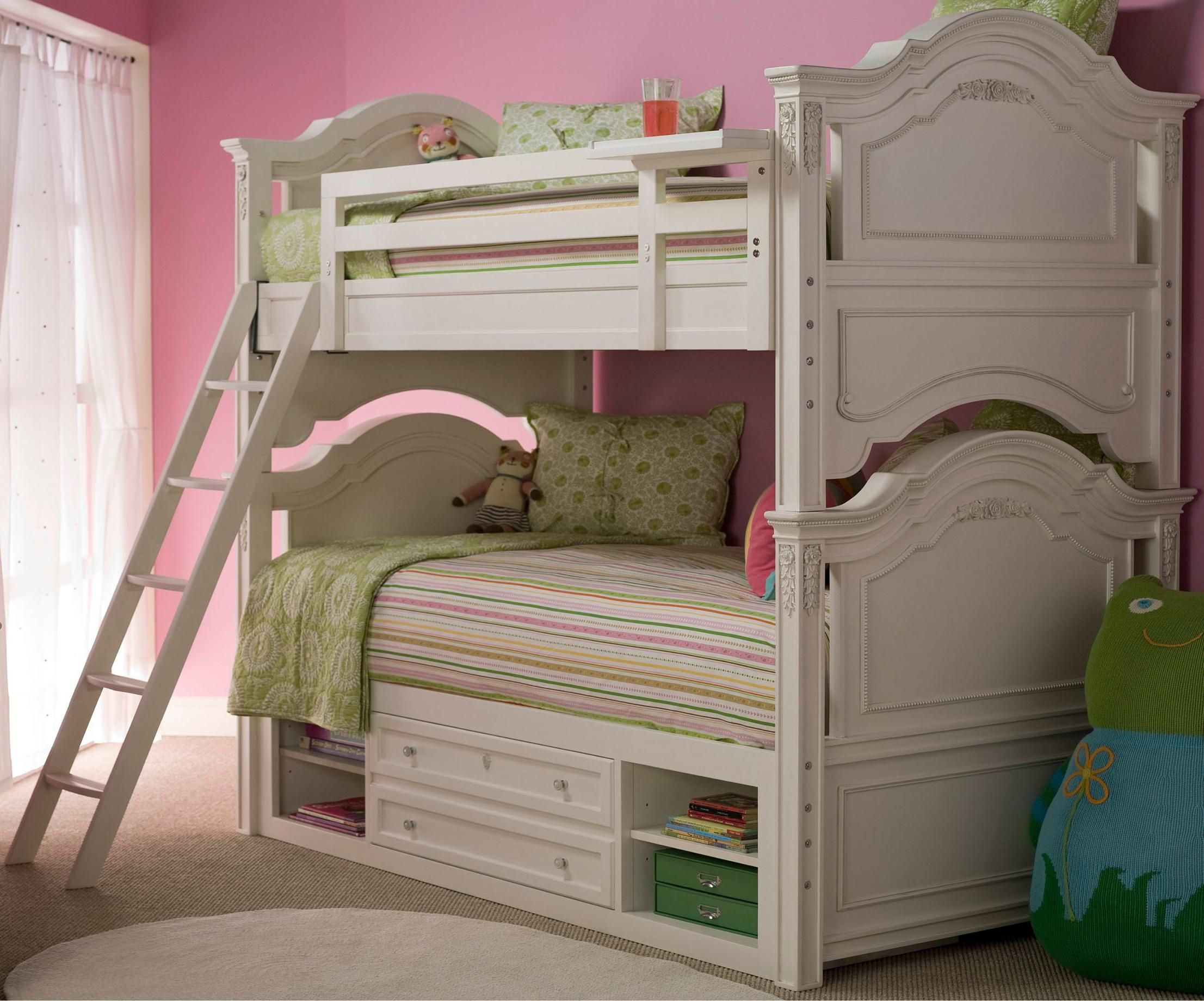 Gabriella Bunk Bed With Storage By Smartstuff Bunk Beds
