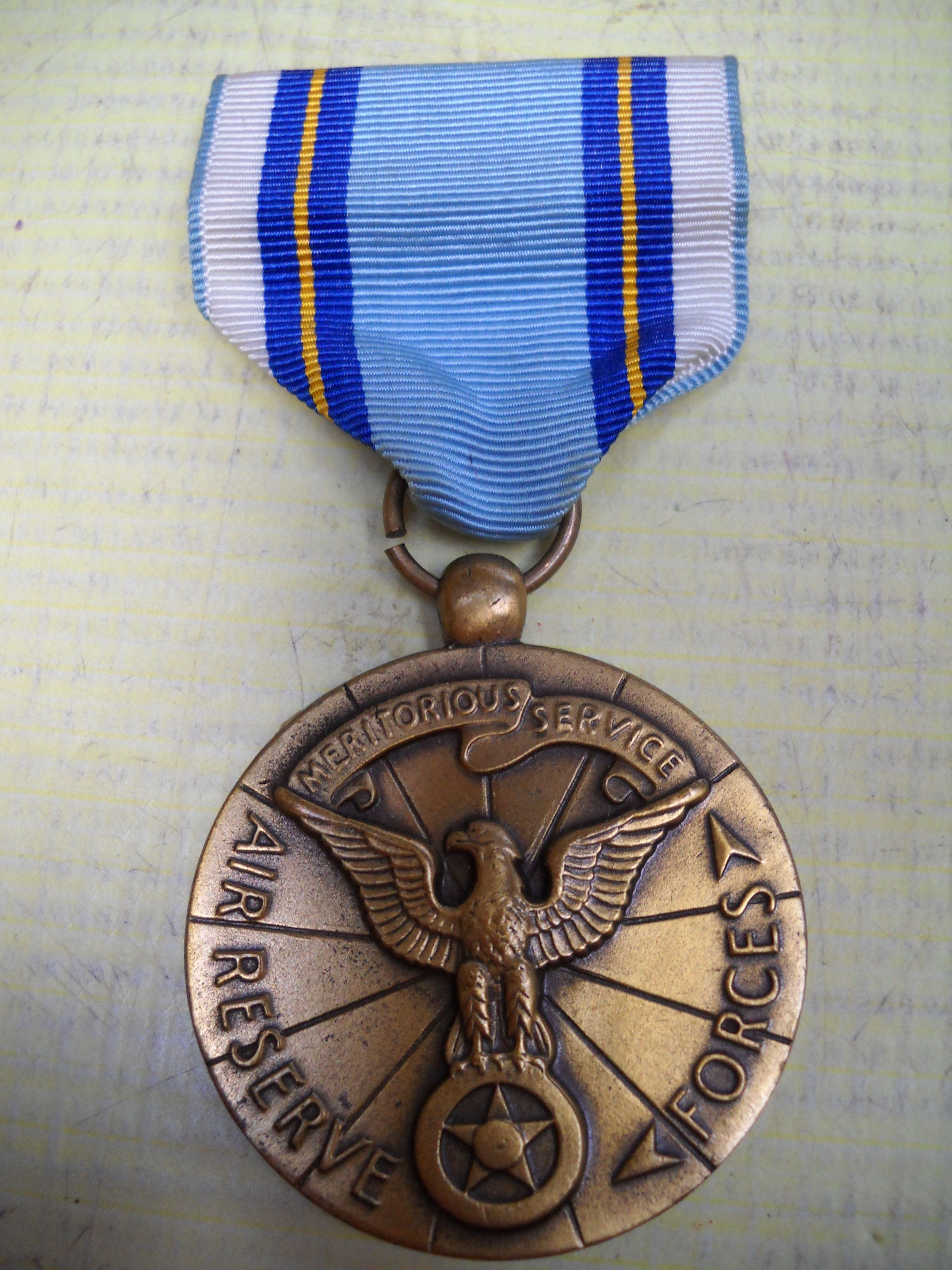 US: Air Force Reserve Meritorious Service Medal   Orden