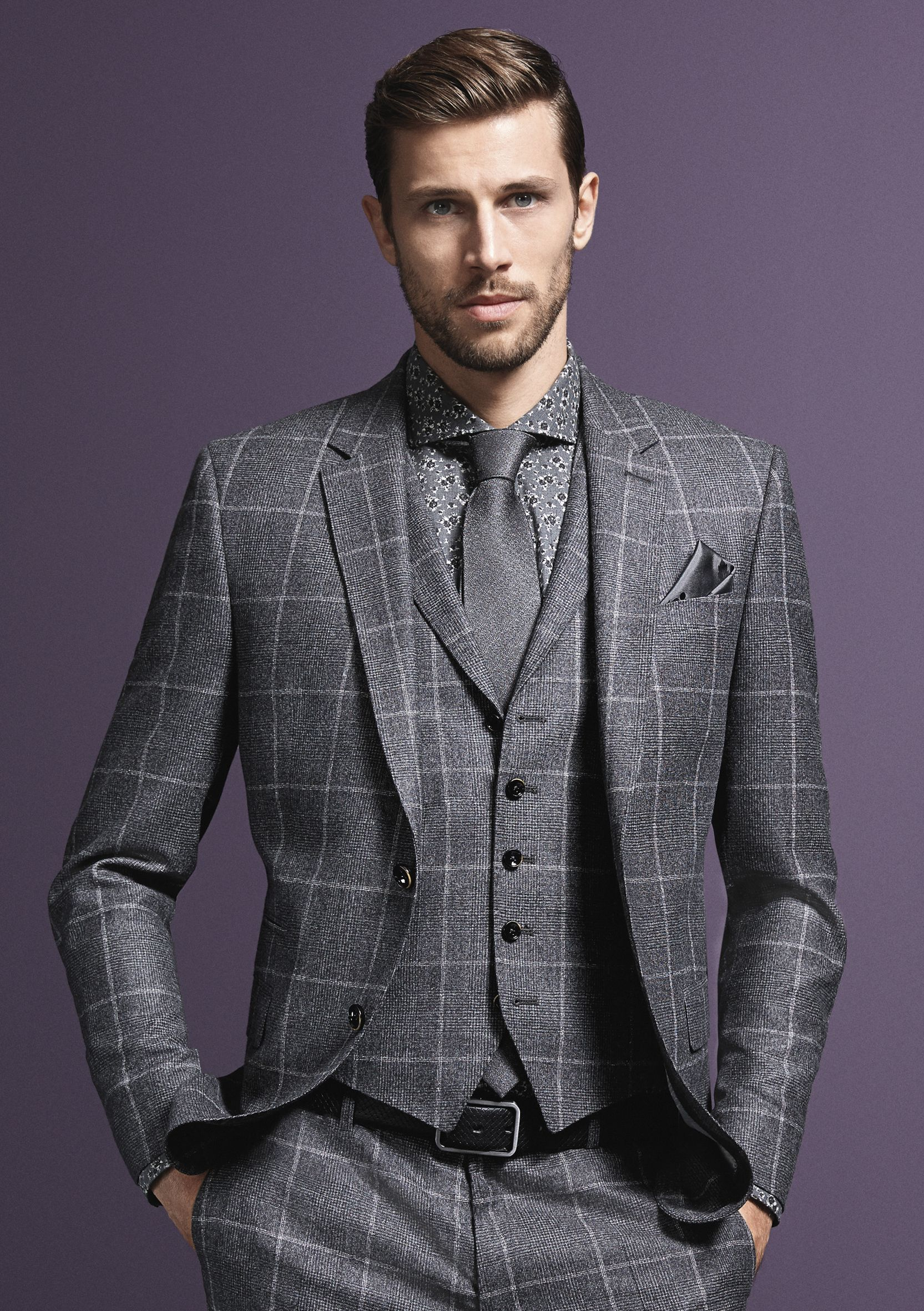 Pin on suit