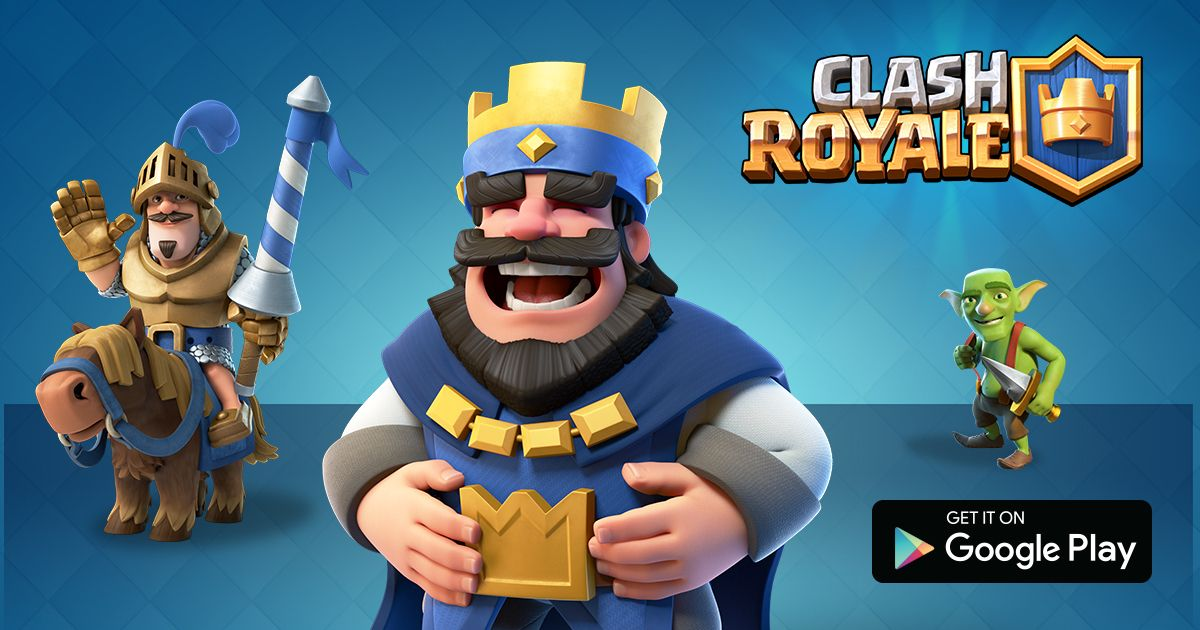 Supercell S Clash Royale Hits Android In A Few Regions Clash Royale Clash Royale Deck Clash Games