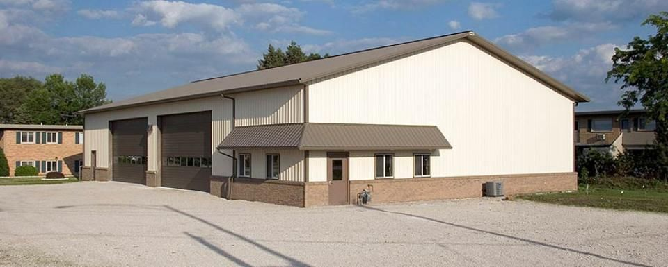 Municipal building profile use municipal post frame for Design your own pole barn online