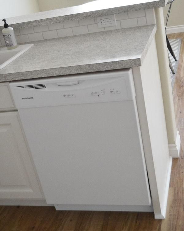 Dishwasher End Panel Ana White Dishwasher Cabinet Kitchen Dishwasher Kitchen Cabinets End Panels