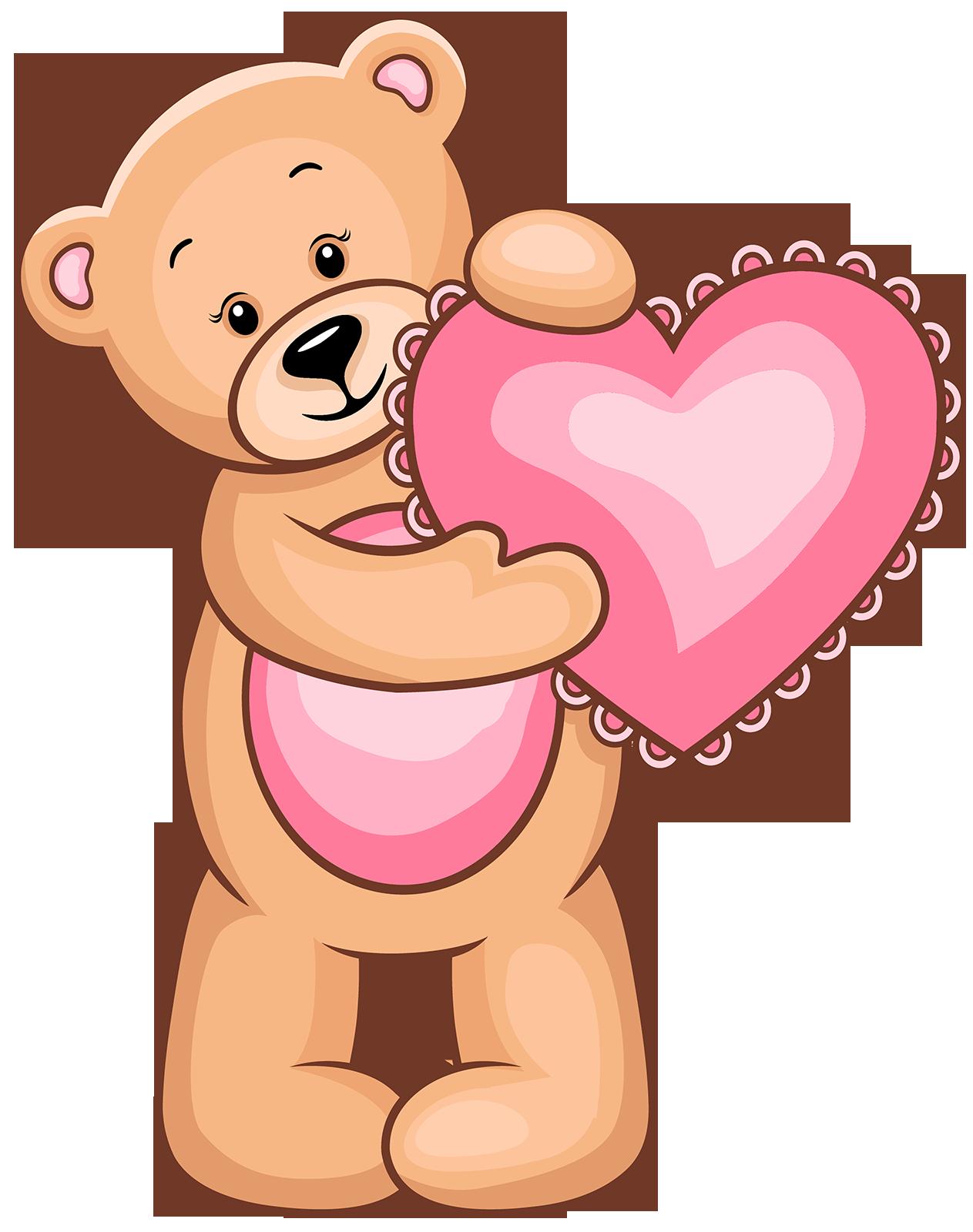 Ursinhas Teddy Bear Clipart Teddy Bears Valentines Bear Clipart