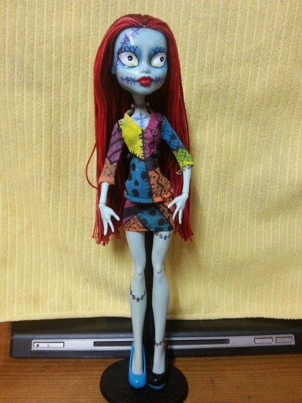 Custom Nightmare Before Christmas Sally doll. By: Adriana | My ...