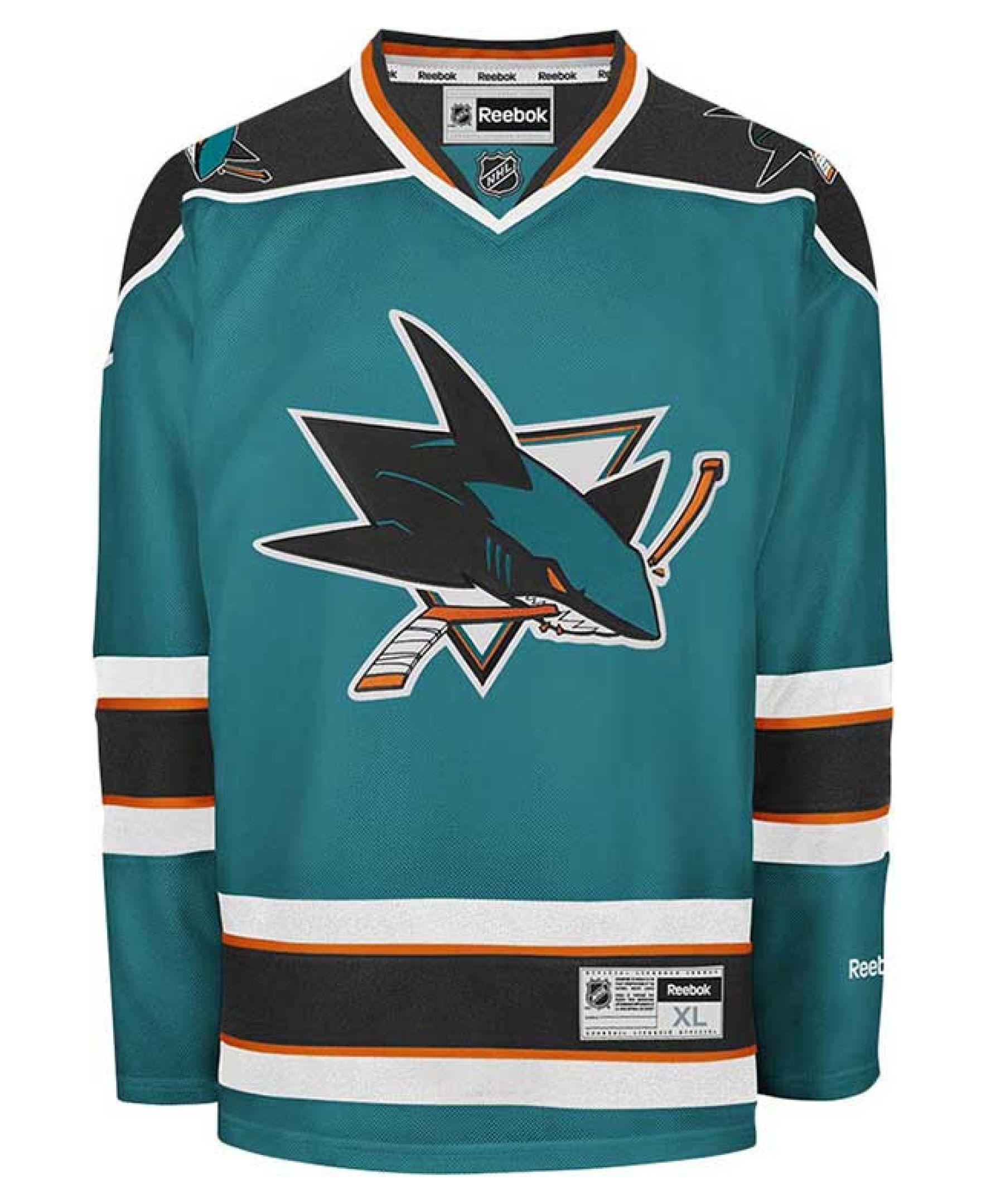 b0666379f7d Reebok Men's San Jose Sharks Premier Jersey | San Jose Sharks ...