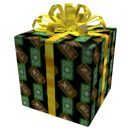 Opened Lucrative Gift of Mercantilism, a Hat by ROBLOX