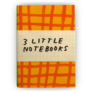 Plumb Goods: 3 Little Notebooks by Tucker Nichols