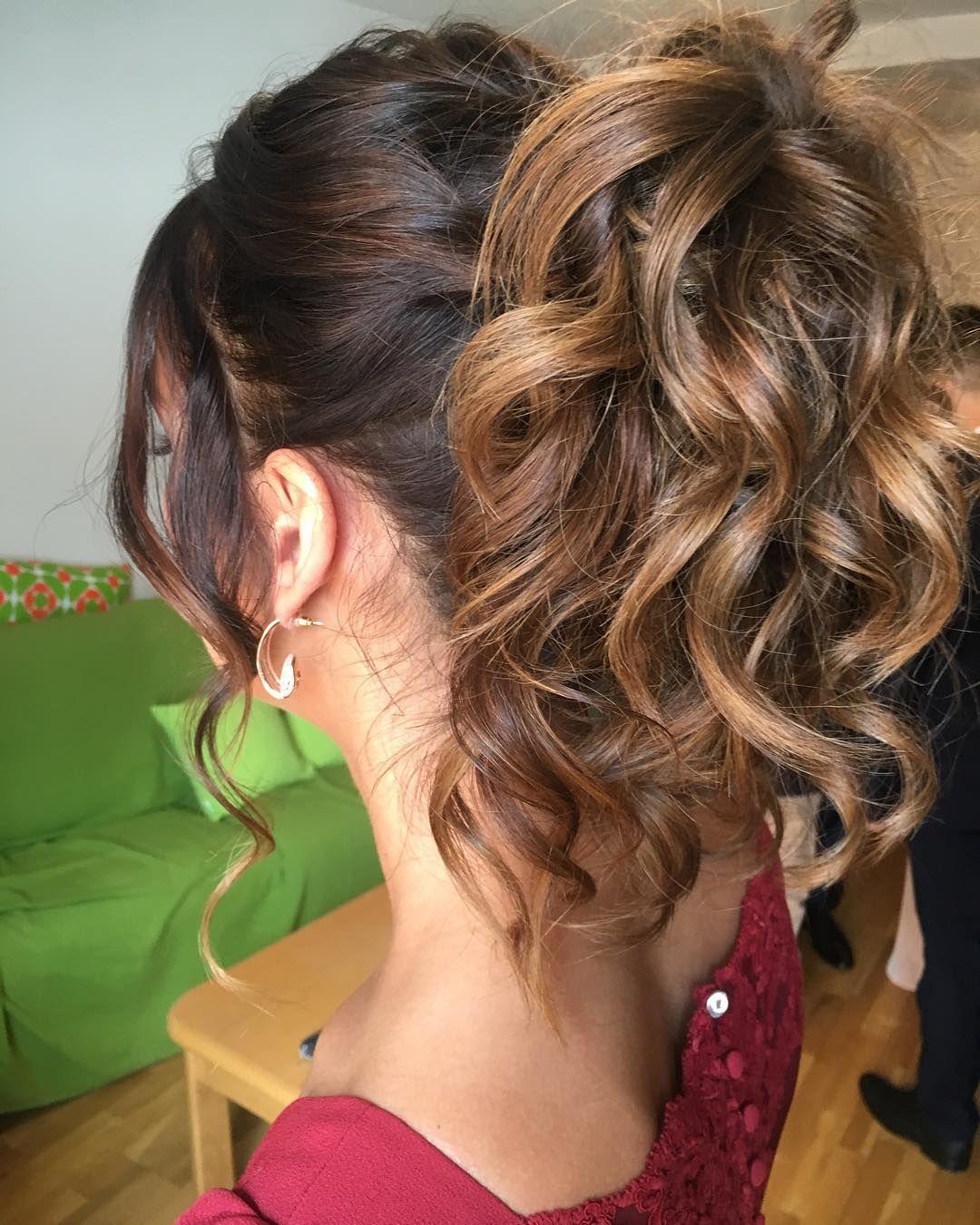 Hairstylist Dugun Hairdresser Coolhair Invitada Braids Bodas Eyes Brunette Peinados Peinados Sencillos Peinados Para Boda Invitadas