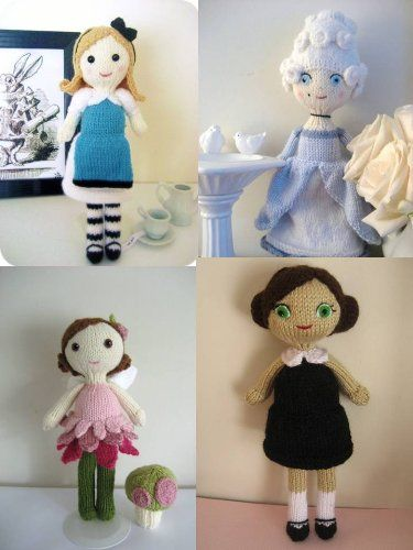 Knit Doll Pattern Bundle Amy Gaines Pattern Collections Book 3